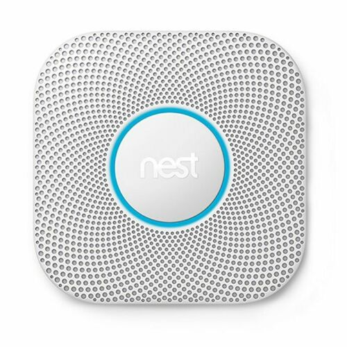 Google Nest Protect Second Generation Battery Smoke and Carb