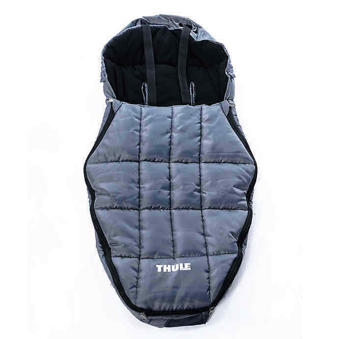 Thule Bunting Bag Footmuff Sport Chariot Stroller Baby Fleece Insulated 20101002