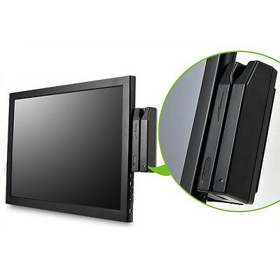 """NEW 15"""" Touch monitor POS MSR included ED150 Touch VGA DVI 5 Wire Touch screen"""