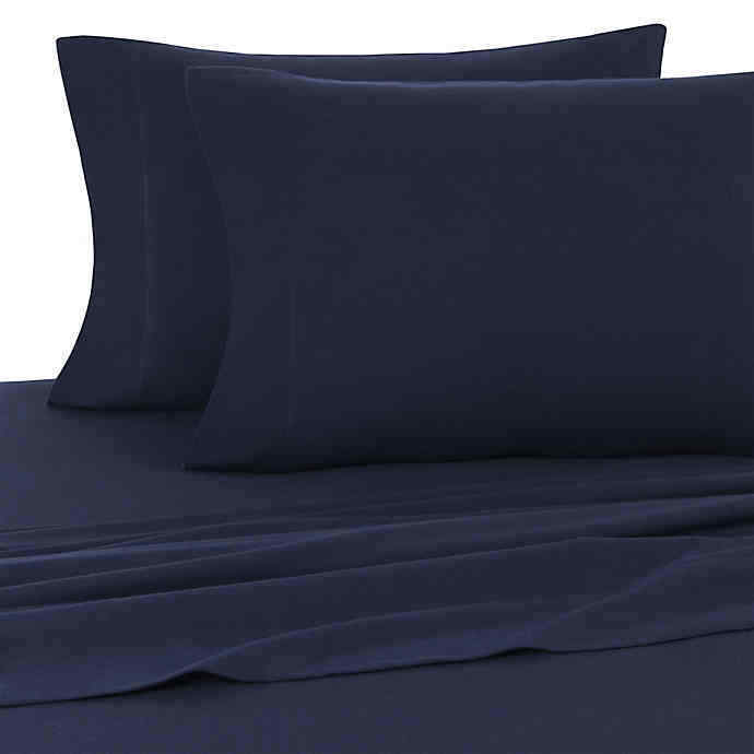 UGG TENCEL TWILIGHT FLANNEL KING PILLOWCASES IN NAVY (SET OF 2)
