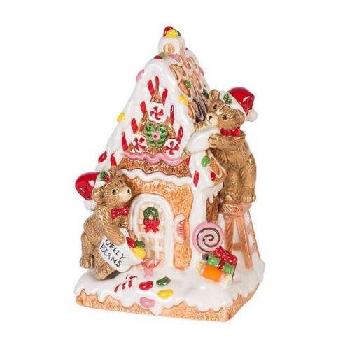 Fitz and Floyd  First Ladies Gingerbread Musical Figurine ~NIB!