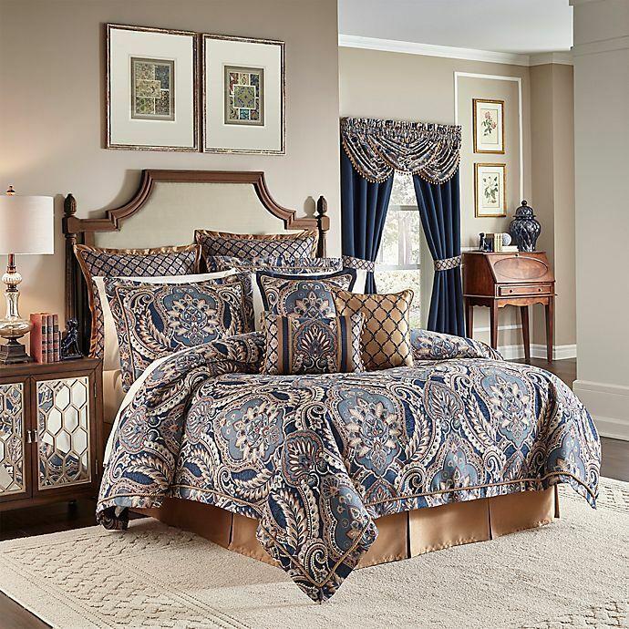 Croscill Aurelio 4-Pc. Queen Comforter Set
