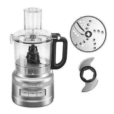 KitchenAid® 7-Cup Food Processor - Silver (KFP0718CU)