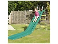 TP Green Rapide Slide with extension - good condition. Loads of fun!