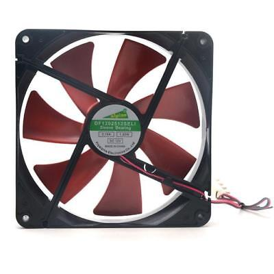 140mm Best silent quiet  case cooling fans 14cm DC 12V 4D plug computer coole
