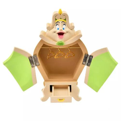 Tokyo Disney Resort 2020 Beauty and The Beast Figure Wardrobe Accessory Case New