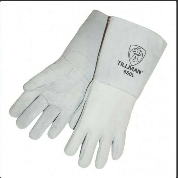 Tillman 650 Top Grain Cowhide Welding Gloves LARGE