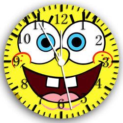 SpongeBob SquarePants Frameless Borderless Wall Clock Nice Gifts or Decor W129