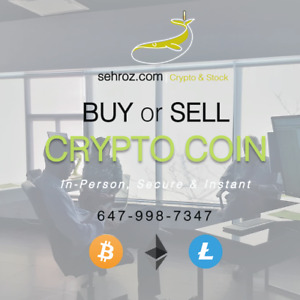BITCOIN, LITECOIN, ETHEREUM | BUY IN-PERSON or LEARN