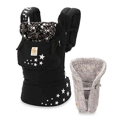 Ergo Original Baby Carrier Galaxy Black with Infant Insert