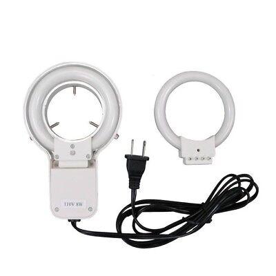 New Stereo Microscope Fluorescent Ring Tube Light Kit