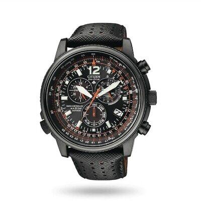 Armbanduhr für herren Citizen Crono Pilot Edelstahl AS4025-08E Neu mit Garantie Citizen Herren Edelstahl Armbanduhr