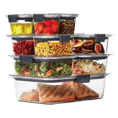 BRAND NEW Rubbermaid Brilliance 22-piece Food Storage Container Set