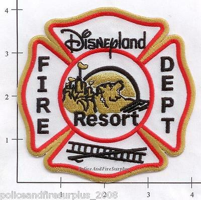 California   Disney Disneyland Resort Ca Fire Dept Patch