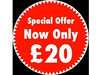 Man & Van Service For £20 Only! Same Day Collection & Delivery