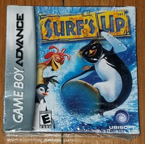 Surf s Up Nintendo Game Boy Advance, 2007 GBA Brand New Sealed - $9.99