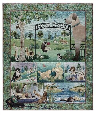McKenna Ryan Quilt Pattern, Dog Park, Complete Set 7 Patterns, Free USA Shipping