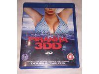 PIRANA 3DD BLU RAY DVD
