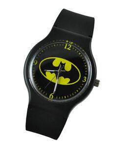 fashion batman dc quartz wrist for boy
