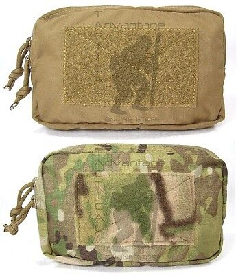 Grey Ghost Gear 5x8 Horizontal Utility MOLLE Pouch- coyote, multicam or ranger (Ghost 5)