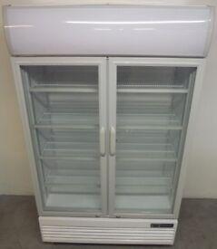 Hire It/Buy It New Foodsvile Range Double Door Glass Fronted Fridge