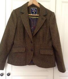 BODEN Ladies Tweed Jacket - size 12 Petite