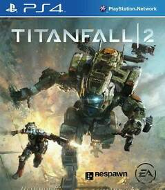 Titanfall 2 for PS4 Excellent condition.only played once.
