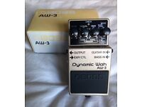 Boss AW-3 Dynamic Wah Guitar/Bass Pedal