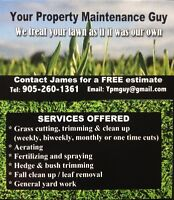 Your Property Maintenance Guy Full Service Lawn Care