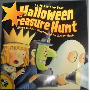 NEW Halloween Treasure Hunt by Alison Inches WD44109 - Treasure Hunt Halloween
