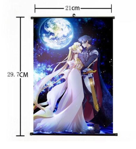 Hot Japan Anime Sailor Moon Home Decor Poster Wall Scroll 21*30CM 005