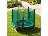8 ft trampoline with enclosure from smyths toys