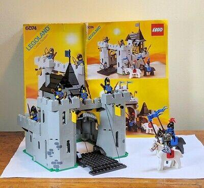 Lego Set 6074 Black Falcon's Fortress - 100% w Box & Instructions, Read descript