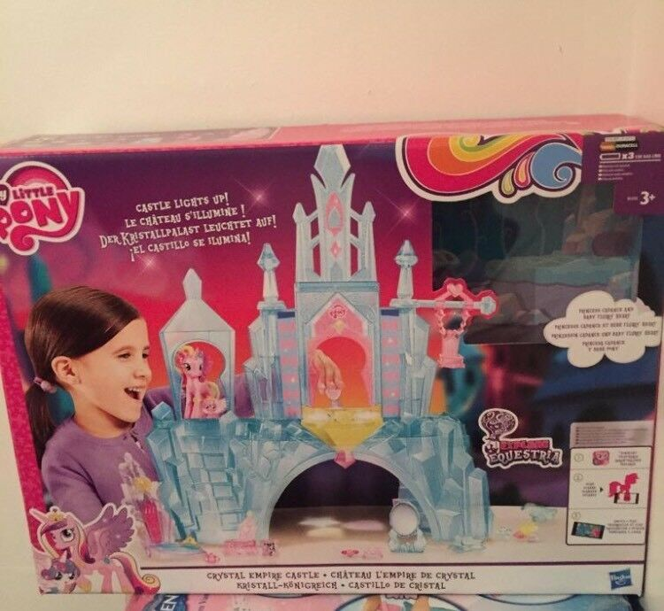My little pony light up castle