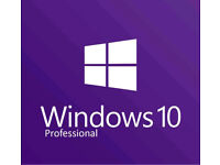 Windows 10 Pro Operating System Disc With Key