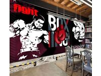 Graffiti / mural artist wanted in Dunfermline for gym