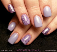 Full Set of Hard Gel Nails $55 ★ VOLTAGE Nail Studio
