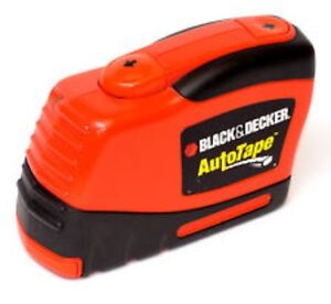 Black and Decker Auto Retracting 25' Measuring Tape for Sale
