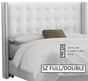 brand NEW Skyline Nail Button Tufted Full/double heADBOARD
