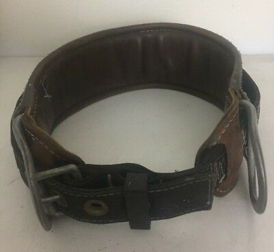 SafeWare Fall Protection Brown Leather Belt Made In USA
