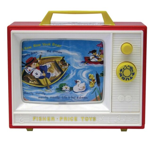 * Fisher Price Classic Two Tune Television