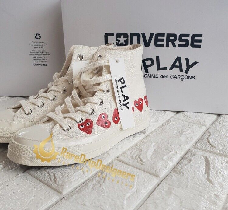 bf02fa643716 Converse x Comme des Garcons PLAY Multi-Heart