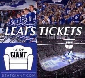 TORONTO MAPLE LEAFS TICKETS FROM $63!!!