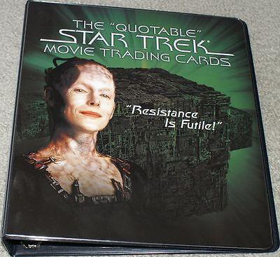 Star Trek The Quotable Movies Binder / Album