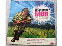 ACTION MAN IS HERE! 1960'S THEME MUSIC FOR ACTION MAN. P/SLLEVE