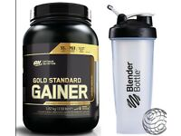 ON Optimum Nutrition Gold Standard Gainer 1.62KG/3.25KG Weight Gainer + Shaker