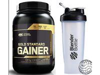 ON Optimum Nutrition Gold Standard Gainer 1.62KG/3.25KG Weight Gainer + Shaker