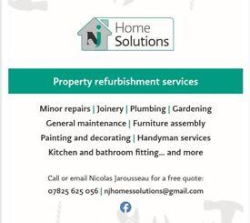 Reliable & Experienced Handyman, Plastering, General Plumbing, Painting & Decorating, Refurbishments