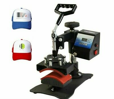 Cap Heat Press Machine Digital Swing Away Sublimation Printer Hat Printing Tools