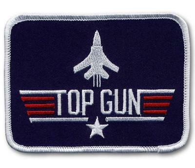 US Navy Top Gun F14 Patch USN 3-1/2""